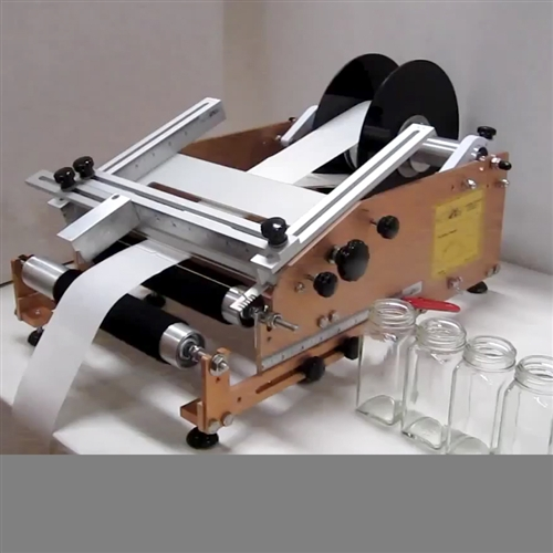 Square Container Label Applicator