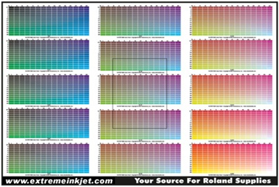 Rgb Color Chart For Roland Sp300 Sp540 Xc540 Sc545 Sj540