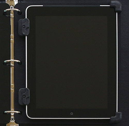 ibinder accessory for the apple ipad 3 ring binder case in black